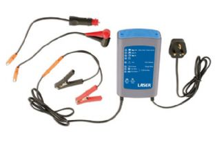 Laser 5475 4 in 1 Intelligent Battery Charger 10A